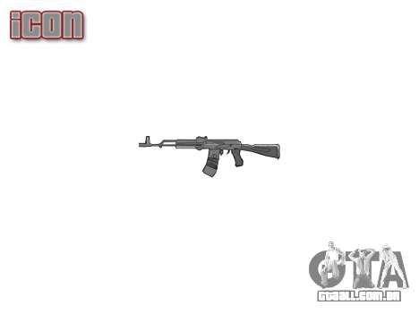 Kalashnikov 101 para GTA 4 terceira tela