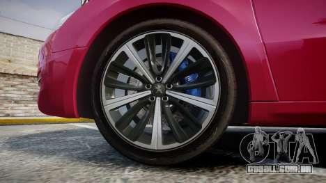 Peugeot 508 v1.2 para GTA 4 vista de volta