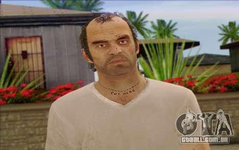 Trevor from GTA 5 para GTA San Andreas terceira tela