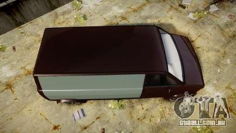 Declasse Burrito Custom para GTA 4 vista direita
