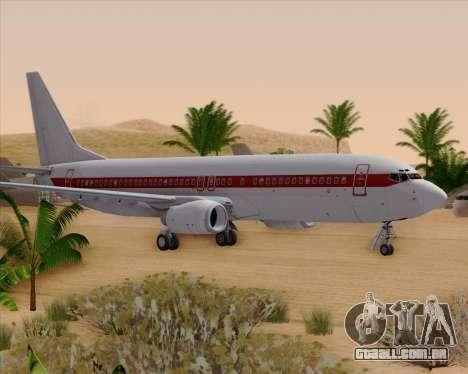 Boeing 737-800 EG&G - Janet para GTA San Andreas