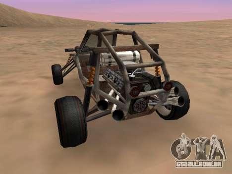 Atualizado Bandito para GTA San Andreas para GTA San Andreas esquerda vista
