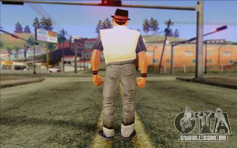 Cuban from GTA Vice City Skin 2 para GTA San Andreas segunda tela