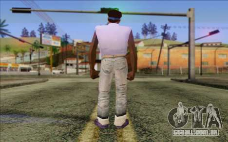 Haitian from GTA Vice City Skin 2 para GTA San Andreas segunda tela
