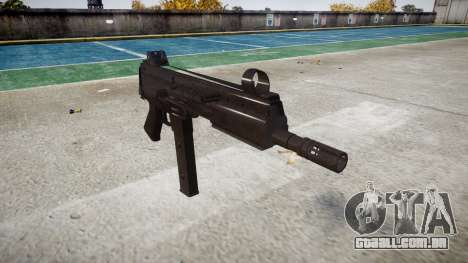 Arma SMT40 sem bunda icon3 para GTA 4