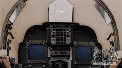 EMB AV-8 Harrier II USA NAVY para GTA San Andreas vista direita