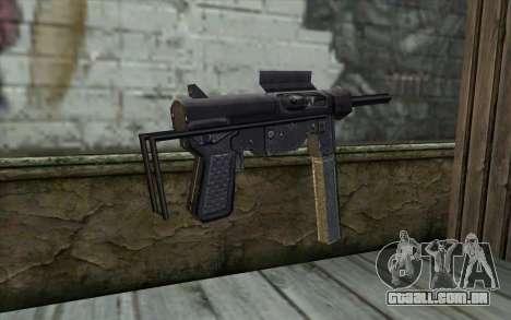Grease Gun from Day of Defeat para GTA San Andreas segunda tela