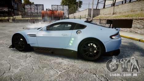 Aston Martin Vantage GTE [Updated] para GTA 4 esquerda vista