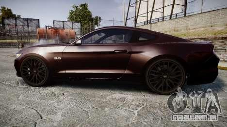 Ford Mustang GT para GTA 4 esquerda vista