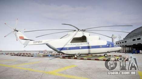 Mi-26 para GTA 4 esquerda vista