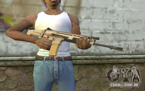 MK 16 SCAR para GTA San Andreas terceira tela