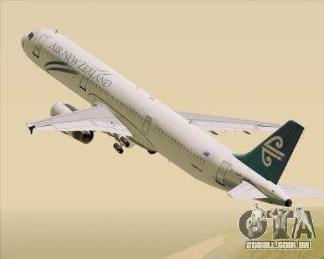 Airbus A321-200 Air New Zealand para GTA San Andreas