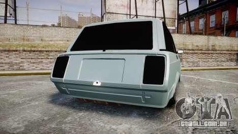 VAZ-2104 hooligan Azerbaijani velho estilo para GTA 4 traseira esquerda vista