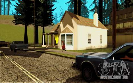 Novo CJ casa em Angel Pine para GTA San Andreas