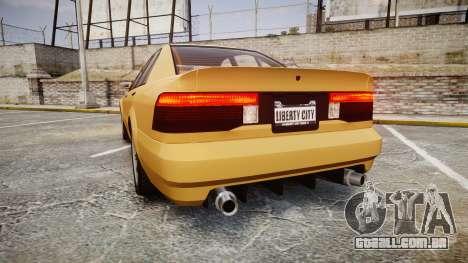Maibatsu Vincent GT v2.0 para GTA 4 traseira esquerda vista