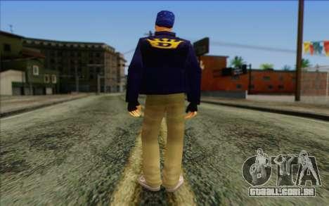 Diablo from GTA Vice City Skin 2 para GTA San Andreas segunda tela