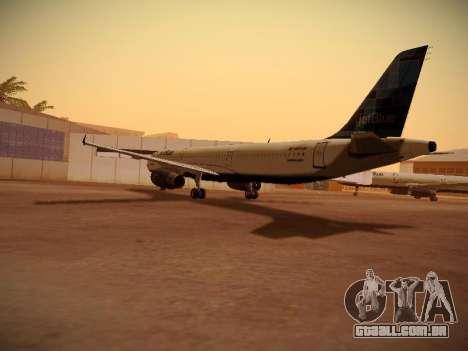 Airbus A321-232 jetBlue Do-be-do-be-blue para GTA San Andreas vista direita