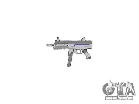 Arma SMT40 sem bunda icon3 para GTA 4 terceira tela