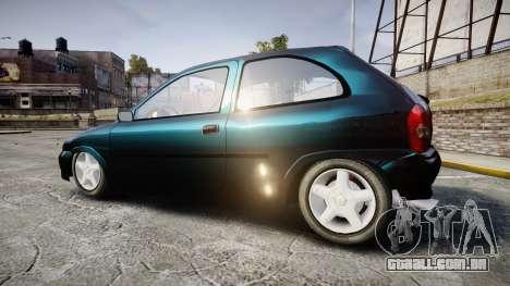 Chevrolet Corsa Classic 1.4 para GTA 4 esquerda vista