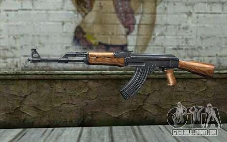 AK47 from Killing Floor v1 para GTA San Andreas