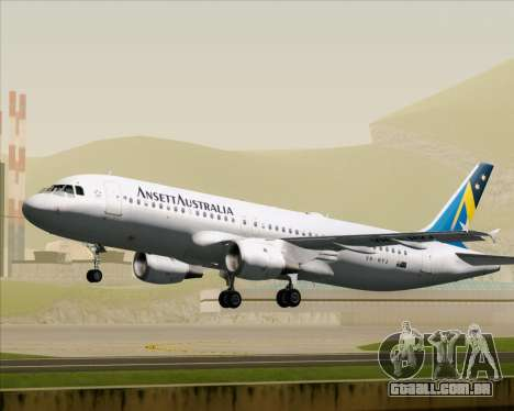 Airbus A320-200 Ansett Australia para GTA San Andreas
