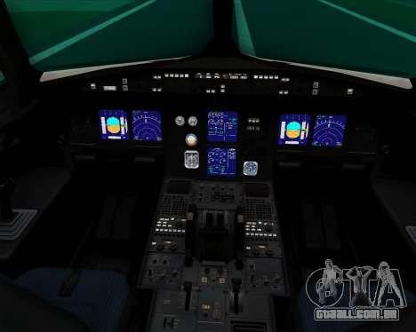 Airbus A321-200 Thomas Cook Airlines para GTA San Andreas interior