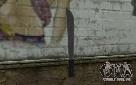 Machete (DayZ Standalone) v2 para GTA San Andreas segunda tela