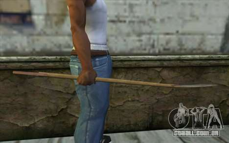 Shovel from Beta Version para GTA San Andreas terceira tela