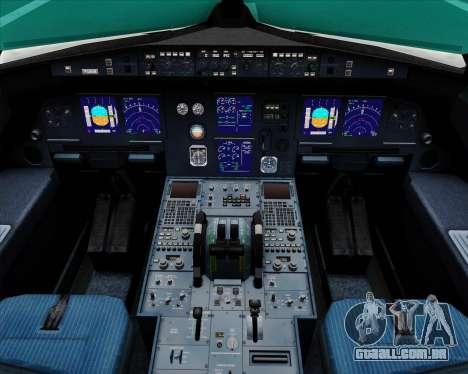 Airbus A321-200 Air Australia para GTA San Andreas interior