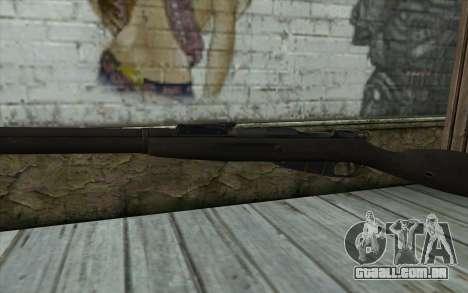 O Mosin-v14 para GTA San Andreas terceira tela