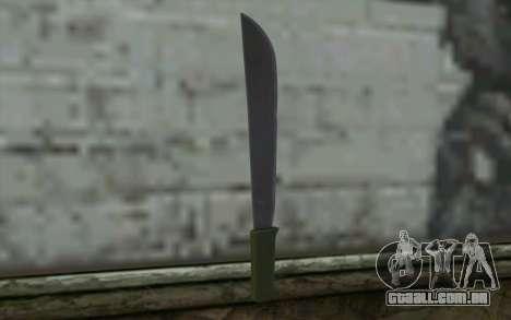 Machete (DayZ Standalone) v1 para GTA San Andreas segunda tela
