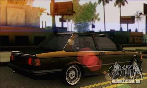 BMW 3 Series (E21) para GTA San Andreas esquerda vista