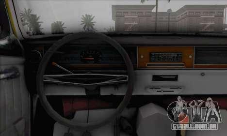 GÁS 24 para GTA San Andreas traseira esquerda vista