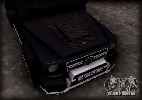 Brabus 800 para GTA San Andreas esquerda vista
