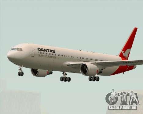Boeing 767-300ER Qantas (Old Colors) para GTA San Andreas vista direita