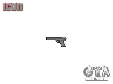 O Revólver Nagant M1895 para GTA 4 terceira tela