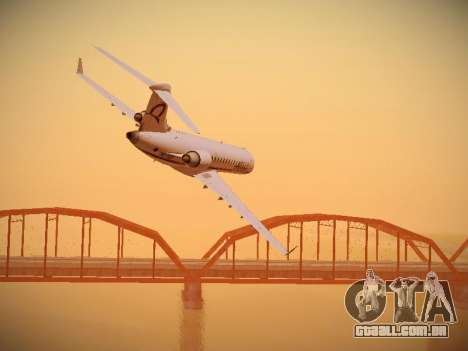Bombardier CRJ-700 Horizon Air para vista lateral GTA San Andreas