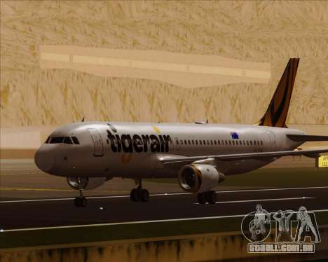 Airbus A320-200 Tigerair Australia para GTA San Andreas