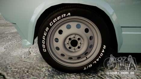 VAZ-2104 hooligan Azerbaijani velho estilo para GTA 4 vista de volta