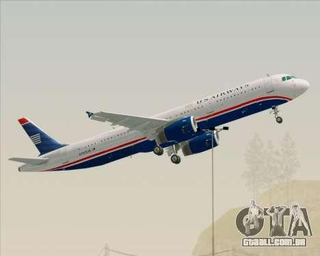 Airbus A321-200 US Airways para GTA San Andreas