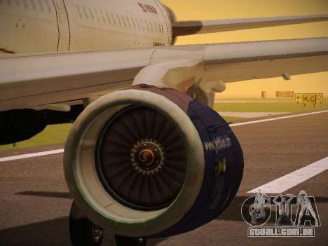 Airbus A321-232 jetBlue Batty Blue para as rodas de GTA San Andreas