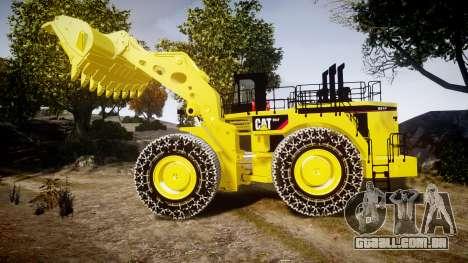 Caterpillar 994F para GTA 4 esquerda vista
