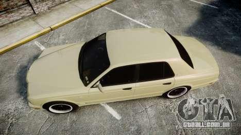 Bentley Arnage T 2005 Rims1 Black para GTA 4 vista direita