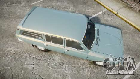 GÁS-24-12 Volga Wh2 para GTA 4 vista direita
