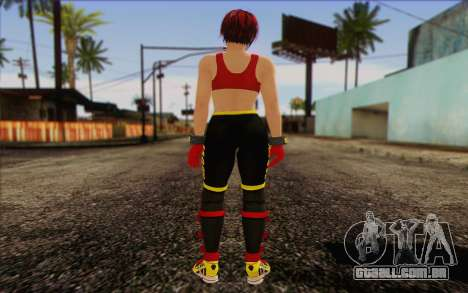 Mila 2Wave from Dead or Alive v8 para GTA San Andreas segunda tela