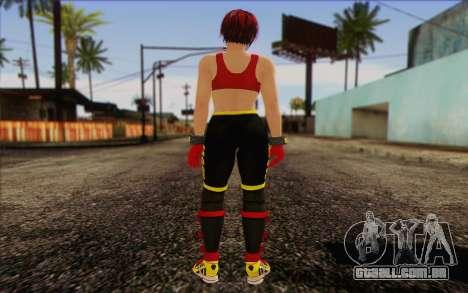 Mila 2Wave from Dead or Alive v8 para GTA San Andreas segunda tela