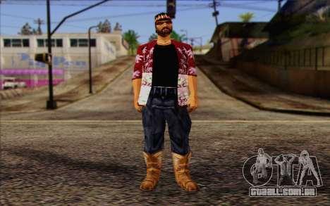 Cartel from GTA Vice City Skin 1 para GTA San Andreas