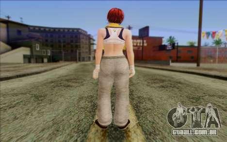 Mila 2Wave from Dead or Alive v17 para GTA San Andreas segunda tela