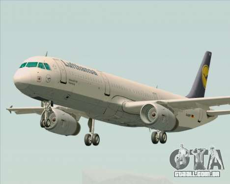 Airbus A321-200 Lufthansa para GTA San Andreas
