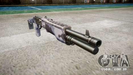 Ружье Franchi SPAS-12 Blue Tiger para GTA 4